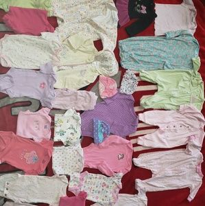 Newborn girl bundle